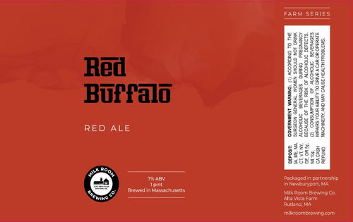 Red Buffalo Ale 4 pack 16oz cans