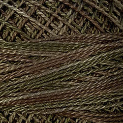 O518 Dusty Leaves - Quiet dark olives, olive browns/earth tones