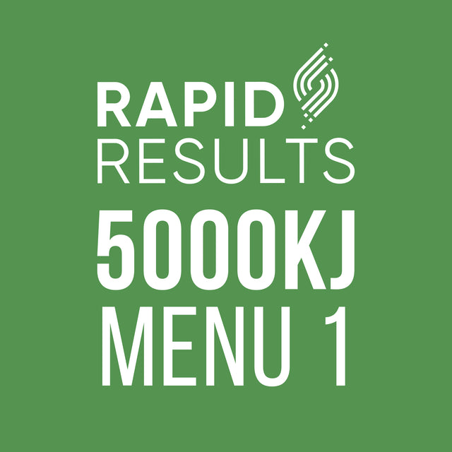 Rapid Results 5000kJ Menu 1