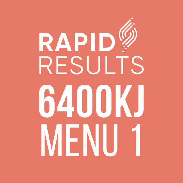 Rapid Results 6400kJ Menu 1