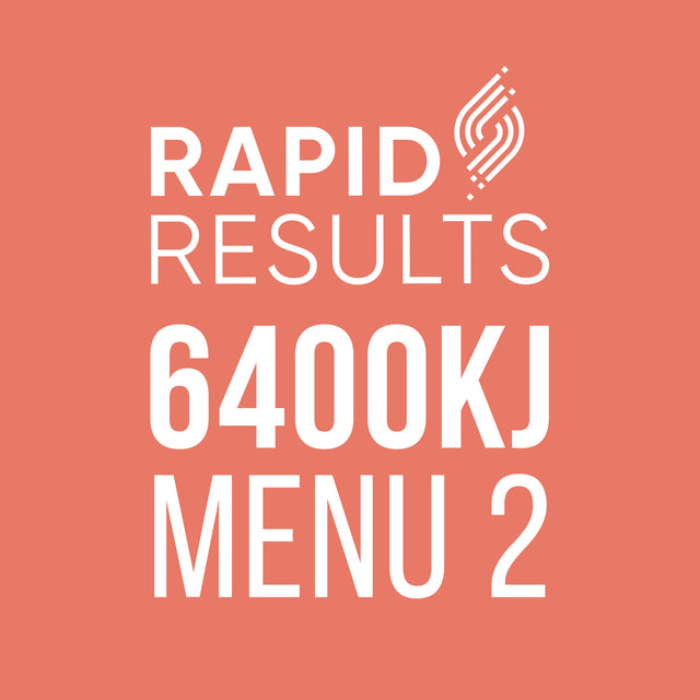 Rapid Results 6400kJ Menu 2