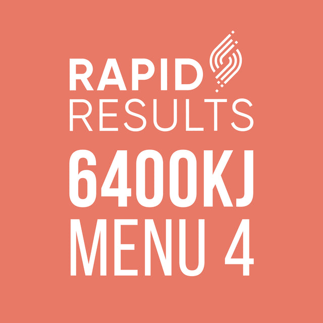 Rapid Results 6400kJ Menu 4