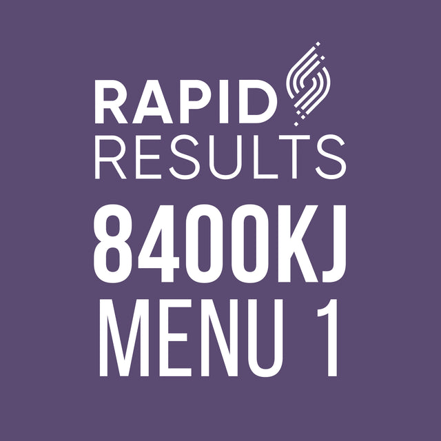 Rapid Results 8400kJ Menu 1