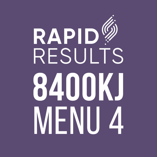 Rapid Results 8400kJ Menu 4