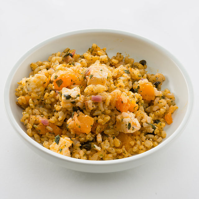 Pumpkin & Fetta Rice Salad