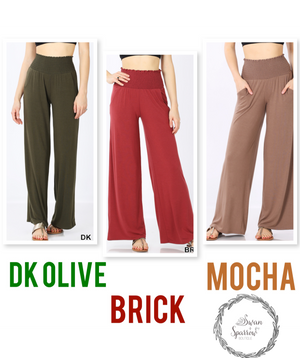 Kendra's Smocked Lounge Pants