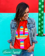 Poppy Party Cactus Tee