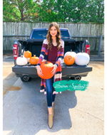 Pumpkin Patch Colorblock Cardigan