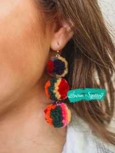Coast to Coast Pom Earring