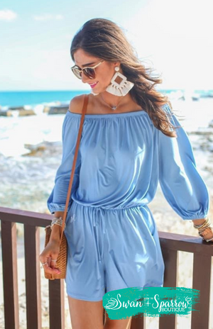 Malibu Off the Shoulder Romper