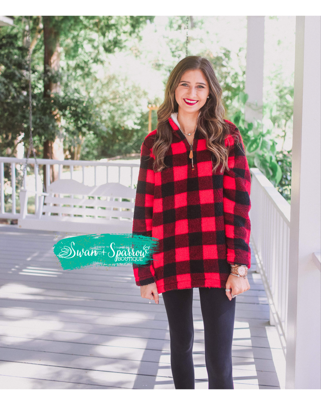 Barker Buffalo Plaid Pullover