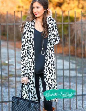 Alice Animal Print Cardigan