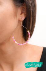 Summer Jams Hoop Earrings