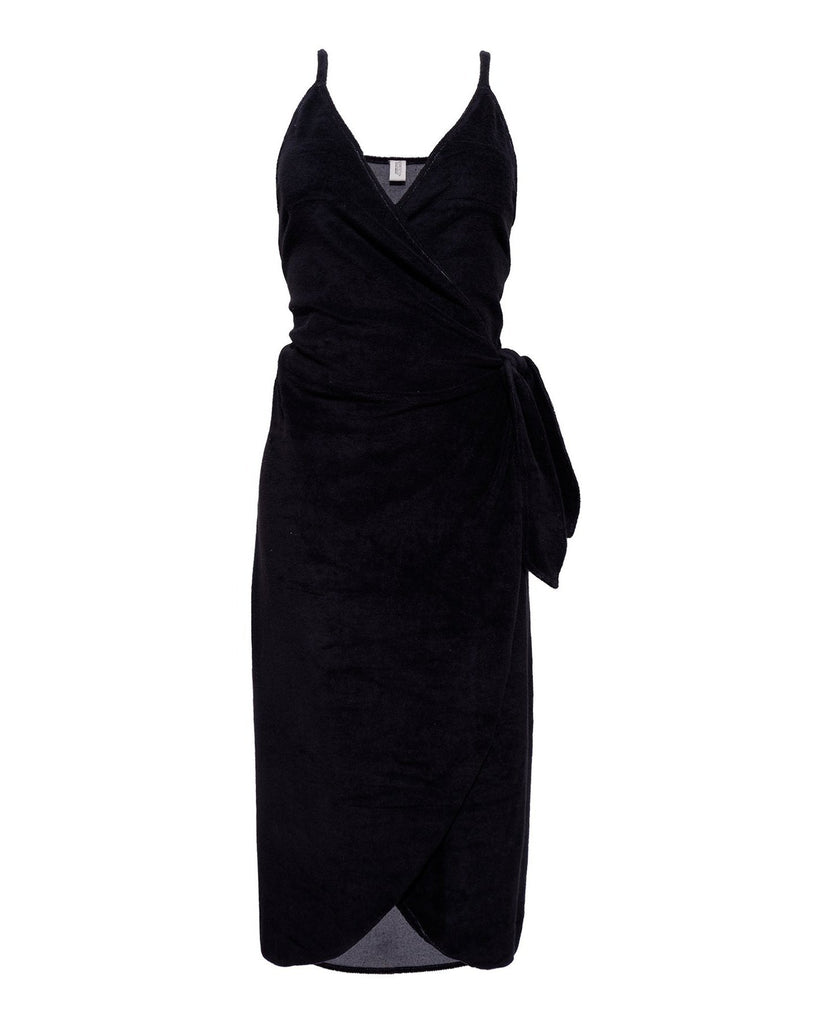 Organic Cotton Terry Wrap Robe Robes