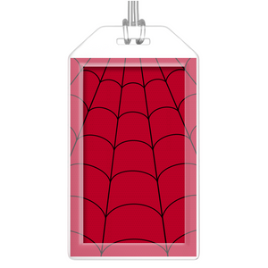 Red Luggage Tags