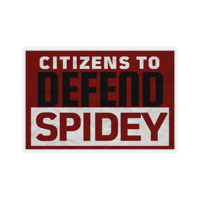 Defend Spidey Sticker