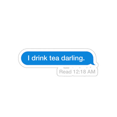 Tea Darling Sticker
