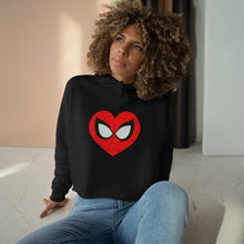 "Load image into Gallery viewer, ""Mary Jane"" Crop Hoodie"