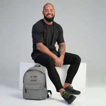 Load image into Gallery viewer, Athletic Embroidered Backpack