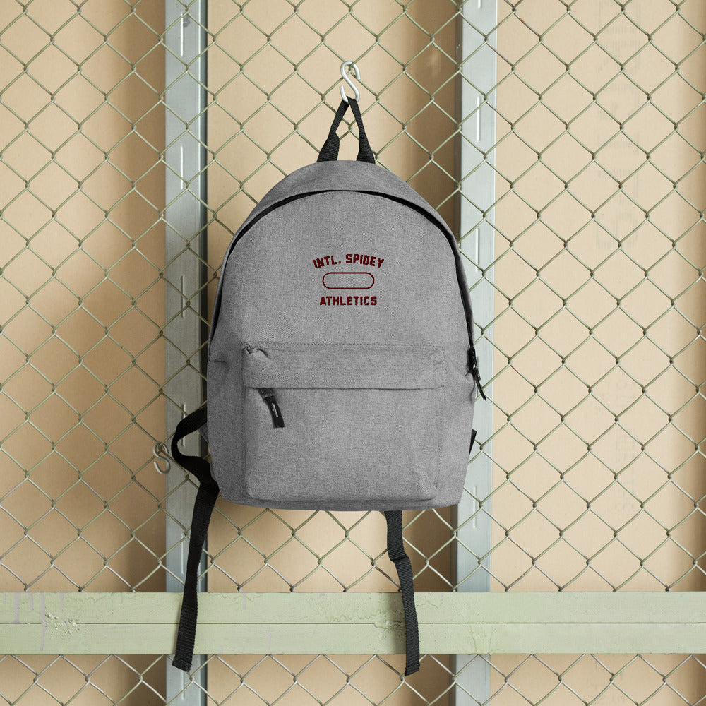 Athletic Embroidered Backpack