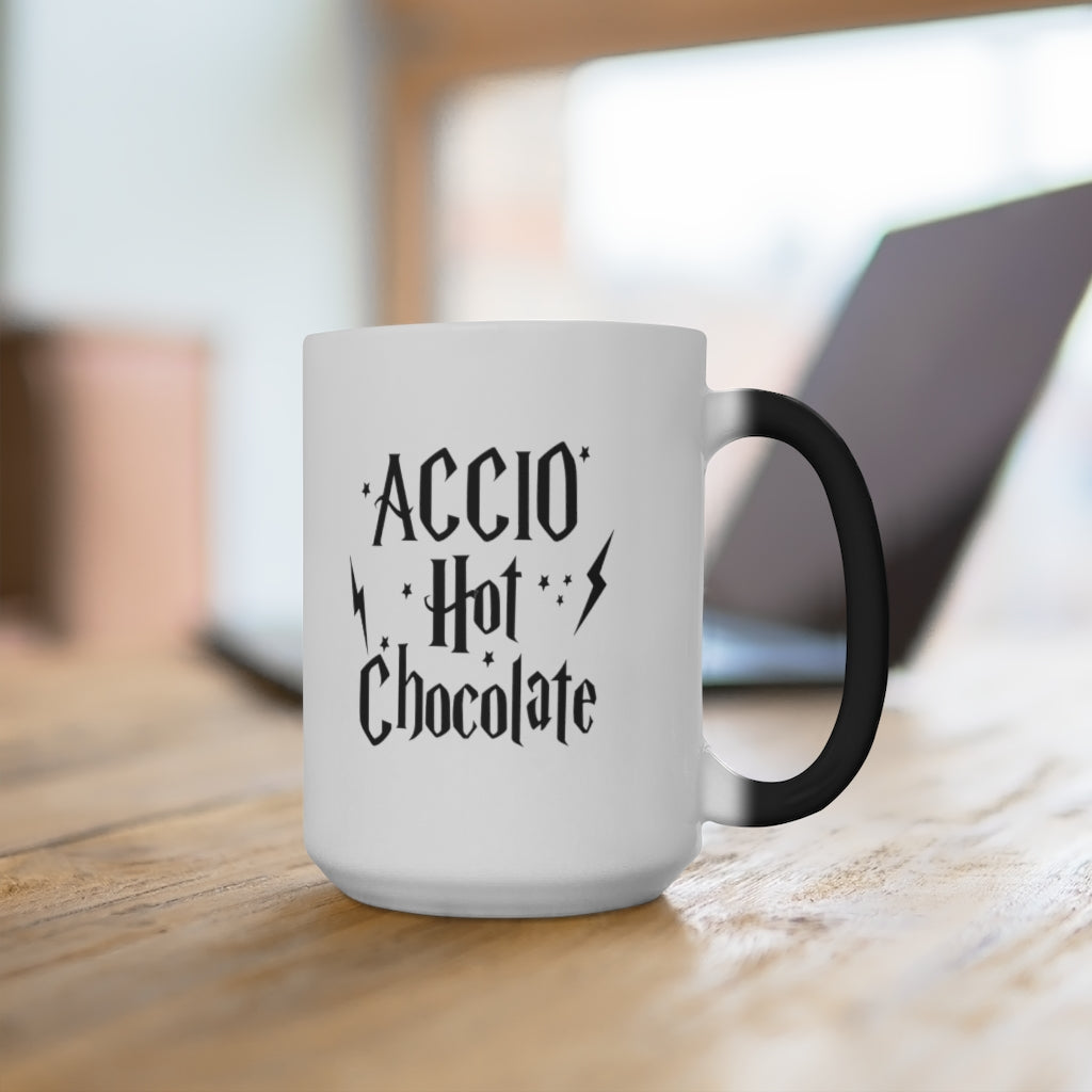 Details about  /Accio Hot Chocolate Color Changing Mug