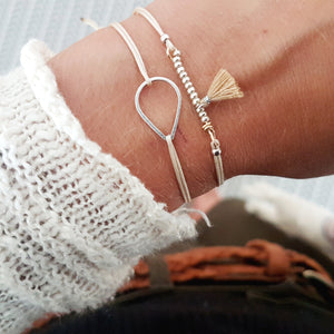 Armband Kombination White Love