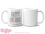 HAPPY BIRTHDAY - From The Ones Who Endure Your Farts... Mug