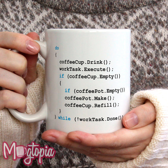 Coffee Coding Mug