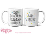Dad, For Not Hitting It & Quitting It Mug