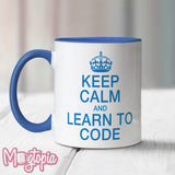 Keep Calm And Learn To Code Mug