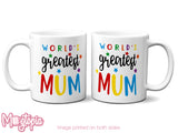 World's Greatest Mum Mug
