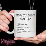 How To Drink Hot Tea Mug