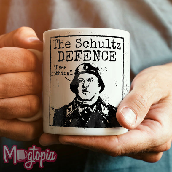 The Schultz Defence Mug