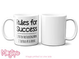 Rules For Success Mug
