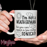 I'm Not A Weatherman... Mug