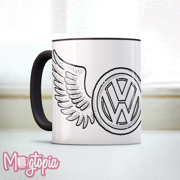 VW Wings Mug