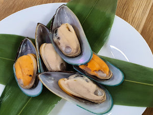Frozen Half-Shell Green Mussel 2 LB