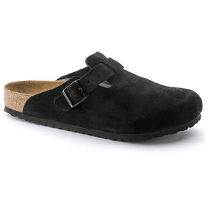 Boston Soft Footbed - 660471-3 in black suede