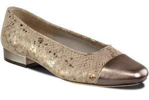 FC-313 - pewter Rockefeller print/opal leather