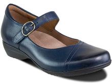 Load image into Gallery viewer, 5501-550200 in navy leather