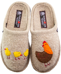 Gallina on natural wool