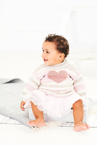 Stylecraft Bambino Prints DK Knitting Pattern 9745
