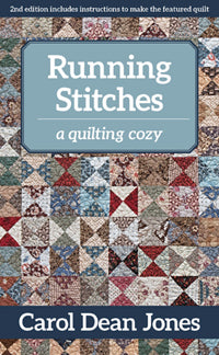 Running Stitches by Carol Dean Jones