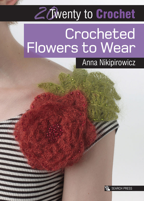 20 to Make Crocheted Flowers to Wear