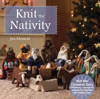 Knit the Nativity by Jan Messent