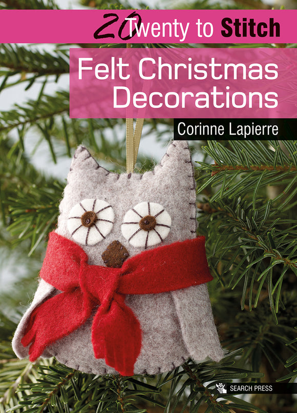 20 to Make Felt Christmas Decorations