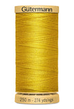 Gutermann COTTON 250M  (Yellow)