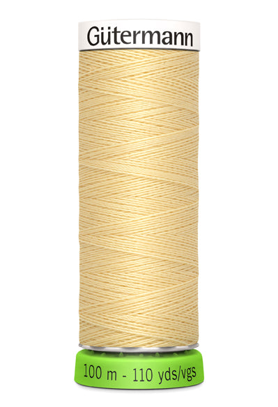 Gutermann Recycled Polyester SEW ALL 100M (Yellow)