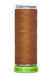 Gutermann Recycled Polyester SEW ALL 100M (Brown)