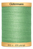 Gutermann COTTON 800M  (Green)